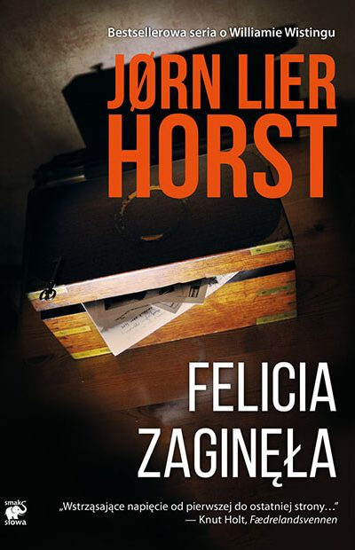 Felicia zaginęła - Okładka