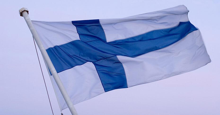 Finlandia flaga - Featured