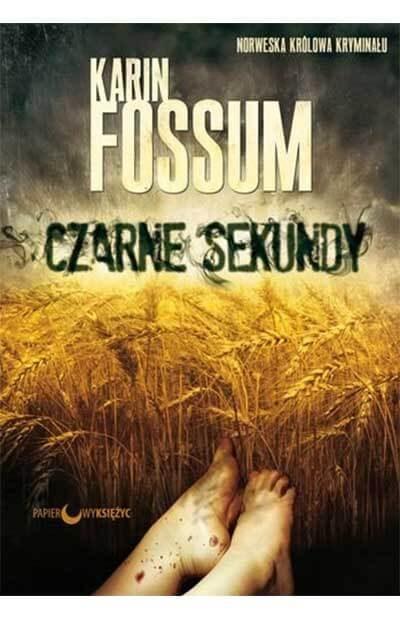 czarne sekundy - Karin Fossum - okładka