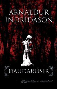 Dauðarósir - Arnaldur Indriðason - Okładka
