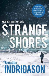 Strange Shores - arnaldur indriðason - okładka