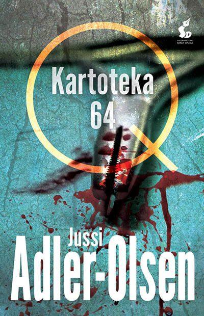 Kartoteka 64 - Jussi Adler-Olsen - Okładka