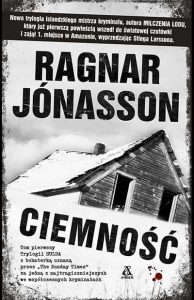 Ragnar Jónasson ciemnosc - okladka